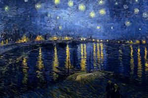 フィンセント・ファン・ゴッホ(1853-1890) 「星降る夜」1888年 油彩/カンヴァス